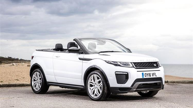 Review And Road Test Of The Land Rover Range Evoque Convertible