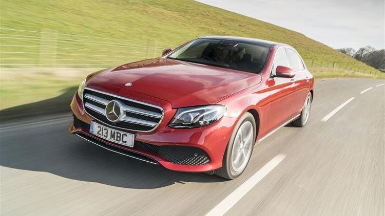 Mercedes-Benz E-Class E220d review   Car review   RAC Drive