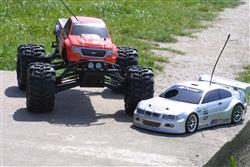 getting started with nitro-powered radio controlled cars