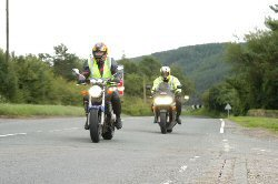 the advanced motorcycle test