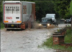 driving in floods & gales - what to do when the wind blows
