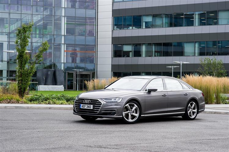 Audi A8 55 TFSI Quattro 4dr Tiptronic [C+S] Petrol Saloon