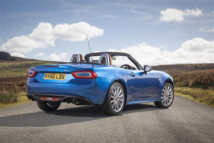 fiat 124 spider convertible 1 4 multiair lusso plus 2dr car leasing and contract hire deals. Black Bedroom Furniture Sets. Home Design Ideas