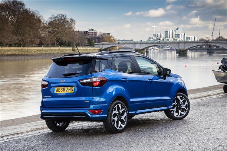 Ford EcoSport 1.0 EcoBoost 125 Titanium 5dr Auto Petrol Hatchback