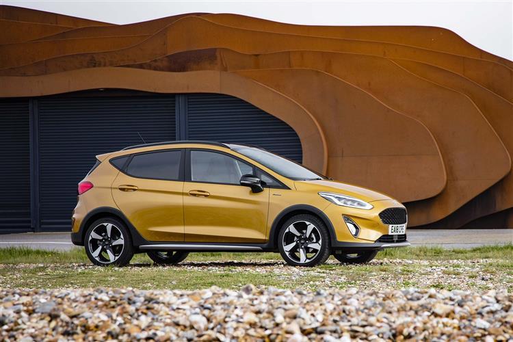 Ford Fiesta 1.0 EcoBoost Active 1 Navigation 5dr Auto Petrol Hatchback