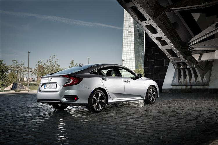 Honda Civic 1.0 VTEC Turbo EX 4dr CVT Petrol Saloon