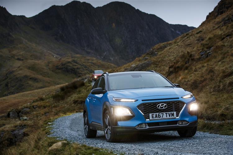 Hyundai Kona 1.6T GDi Blue Drive Premium GT 5dr 4WD DCT Petrol Hatchback