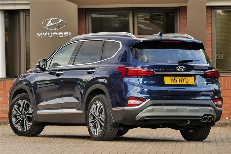 Hyundai Santa Fe 2.2 CRDi Premium SE 5dr 4WD Auto Diesel Estate