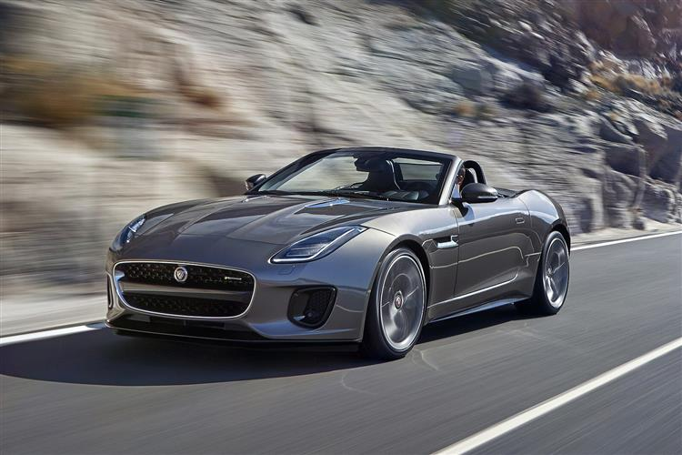 Jaguar F-Type 3.0 [380] Supercharged V6 R-Dynamic 2dr Auto AWD Petrol Convertible