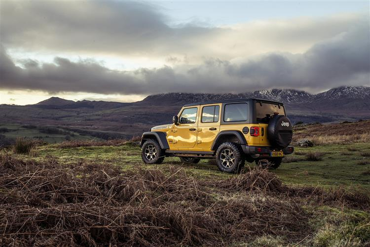Jeep Wrangler 2.2 Multijet Rubicon 4dr Auto8 Diesel Soft-Top