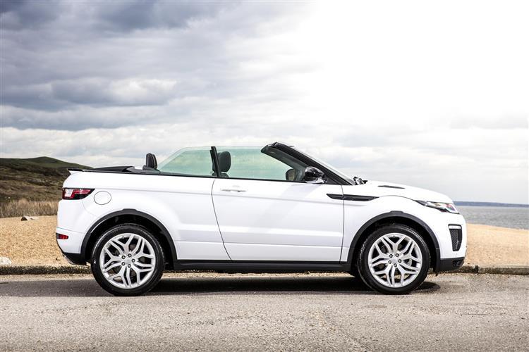 car review 11125 land rover range rover evoque conv. Black Bedroom Furniture Sets. Home Design Ideas