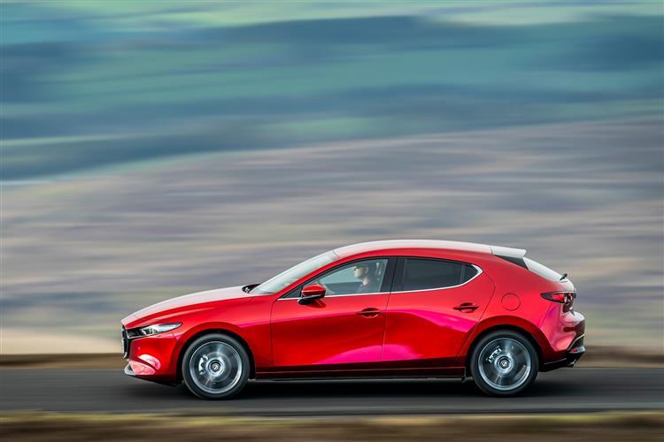 Mazda 3 2.0 Skyactiv-G MHEV GT Sport Tech 5dr Auto Petrol Hatchback