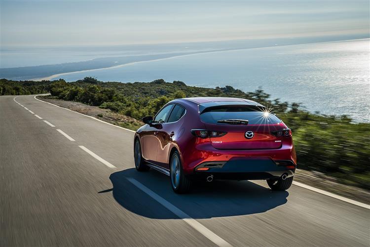Mazda 3 2.0 Skyactiv-X MHEV GT Sport 5dr Auto Petrol Hatchback