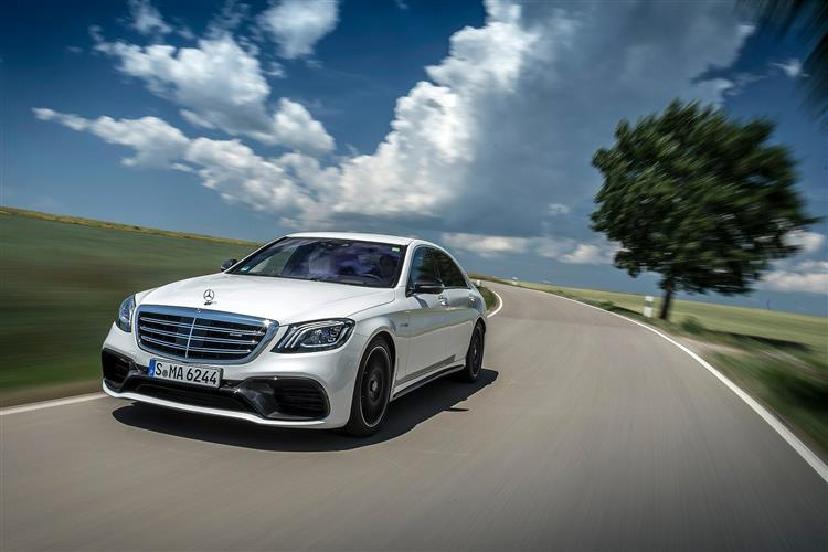 Mercedes-AMG S-Class S63L Executive 4dr MCT Petrol Saloon