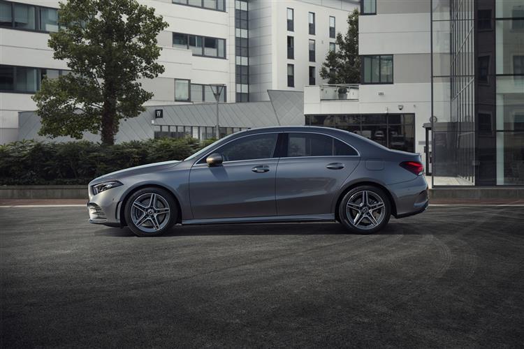 Mercedes-Benz A-Class A180d AMG Line Premium Plus 4dr Auto Diesel Saloon