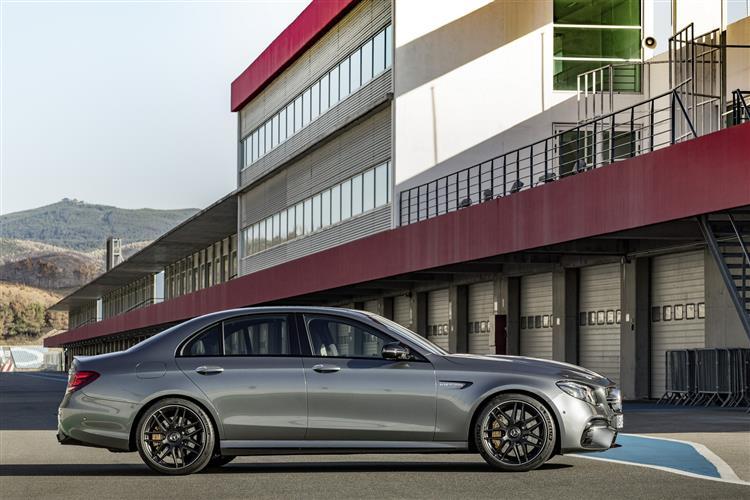 Mercedes-AMG E-Class E63 4Matic+ Premium 4dr 9G-Tronic Petrol Saloon