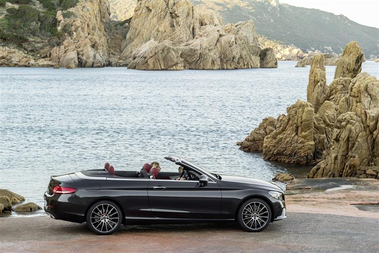 Mercedes-AMG C-Class C63 2dr 9G-Tronic Petrol Cabriolet