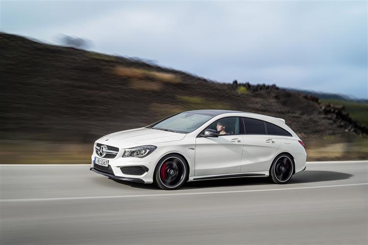 Mercedes-AMG CLA 45 4Matic 5dr Tip Auto [Comand] Petrol Estate