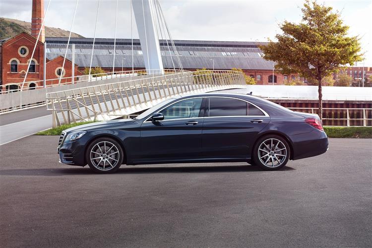 Mercedes-Benz S-Class S350d AMG Line Premium 4dr 9G-Tronic Diesel Saloon