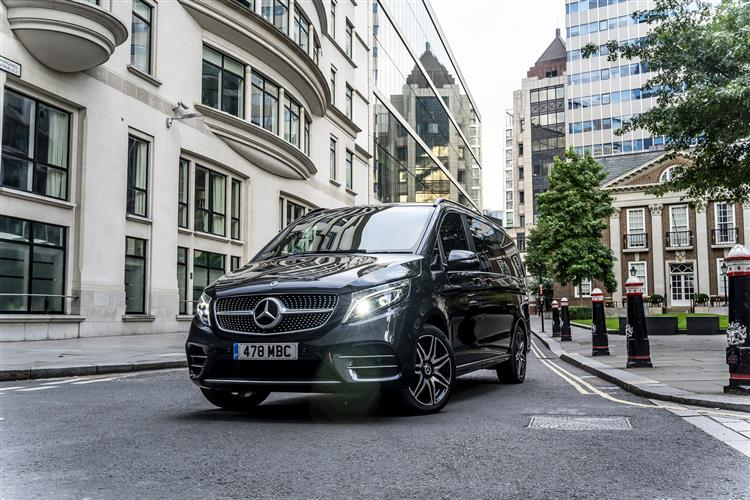 New Mercedes-Benz V-Class V250 d Marco Polo Horizon Sport