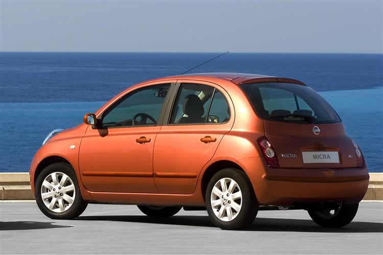 car review 208914 nissan micra 2003 2010. Black Bedroom Furniture Sets. Home Design Ideas