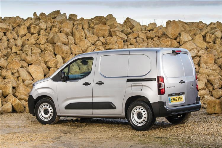 Peugeot Partner Standard Diesel 1000 1.5 BlueHDi 130 Professional Van EAT8
