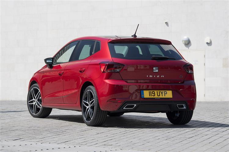 SEAT Ibiza 1.0 TSI 115 FR 5dr DSG Petrol Hatchback