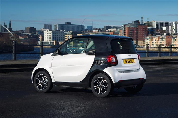 smart fortwo coupe 0.9 Turbo Urban Shadow Edition 2dr Petrol Coupe