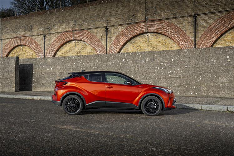 Toyota C-HR 2.0 Hybrid Dynamic 5dr CVT [Leather/JBL] Hybrid Hatchback