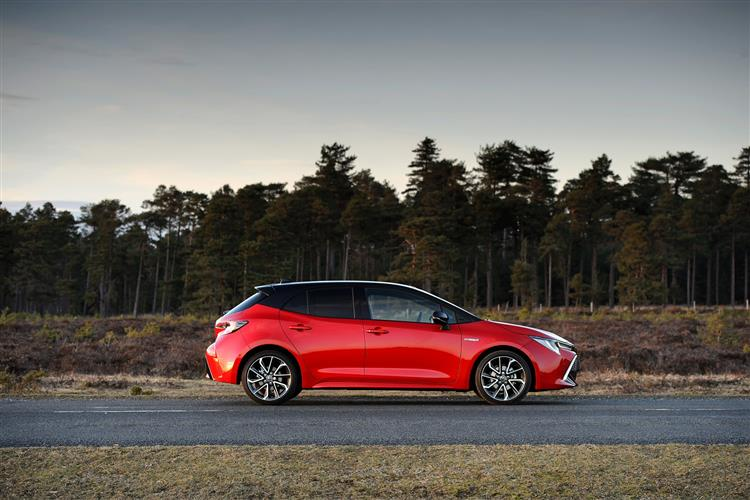 Toyota Corolla 1.8 VVT-i Hybrid Excel 5dr CVT [Bi-tone] Hybrid Hatchback