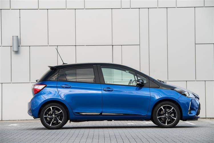Toyota Yaris 1.0 [72] VVT-i Icon 5dr Petrol Hatchback