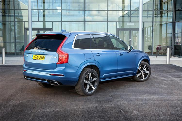 VOLVO XC90 DIESEL ESTATE 2.0 D5 Momentum 5dr AWD Geartronic