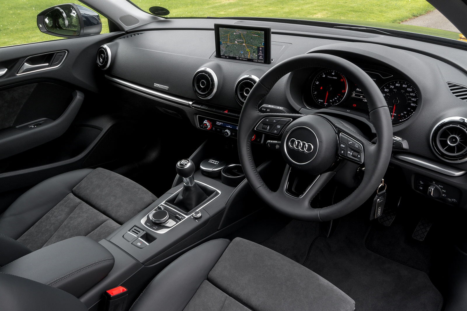 Audi A1 Lease >> New Audi A3 30 TFSI 116 Black Edition 5dr Petrol Hatchback ...
