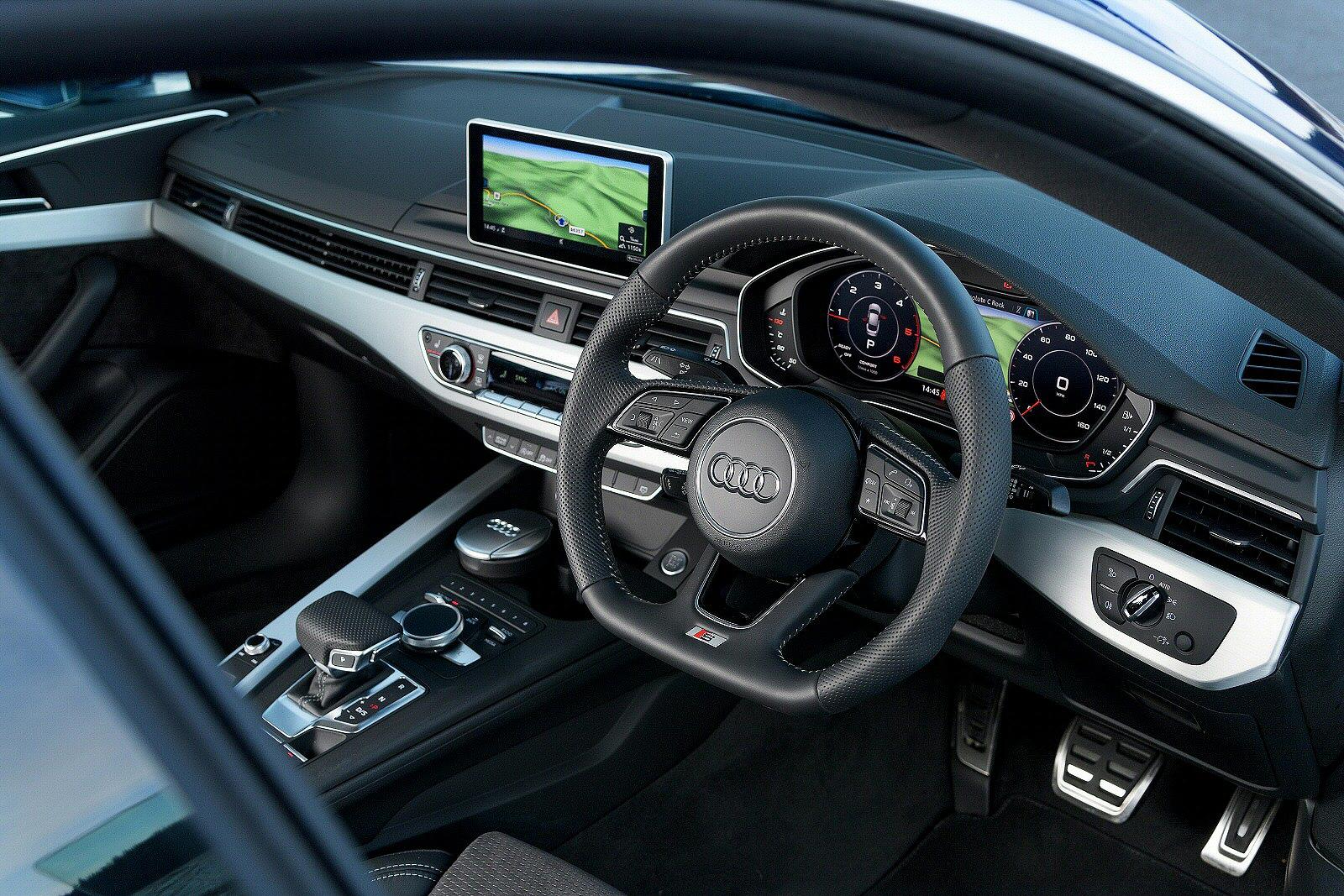 new audi a5 40 tfsi black edition 5dr petrol hatchback for. Black Bedroom Furniture Sets. Home Design Ideas