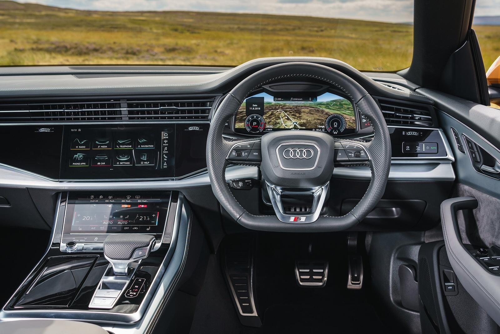New Audi Q8 55 Tfsi Quattro Vorsprung 5dr Tiptronic Petrol Estate