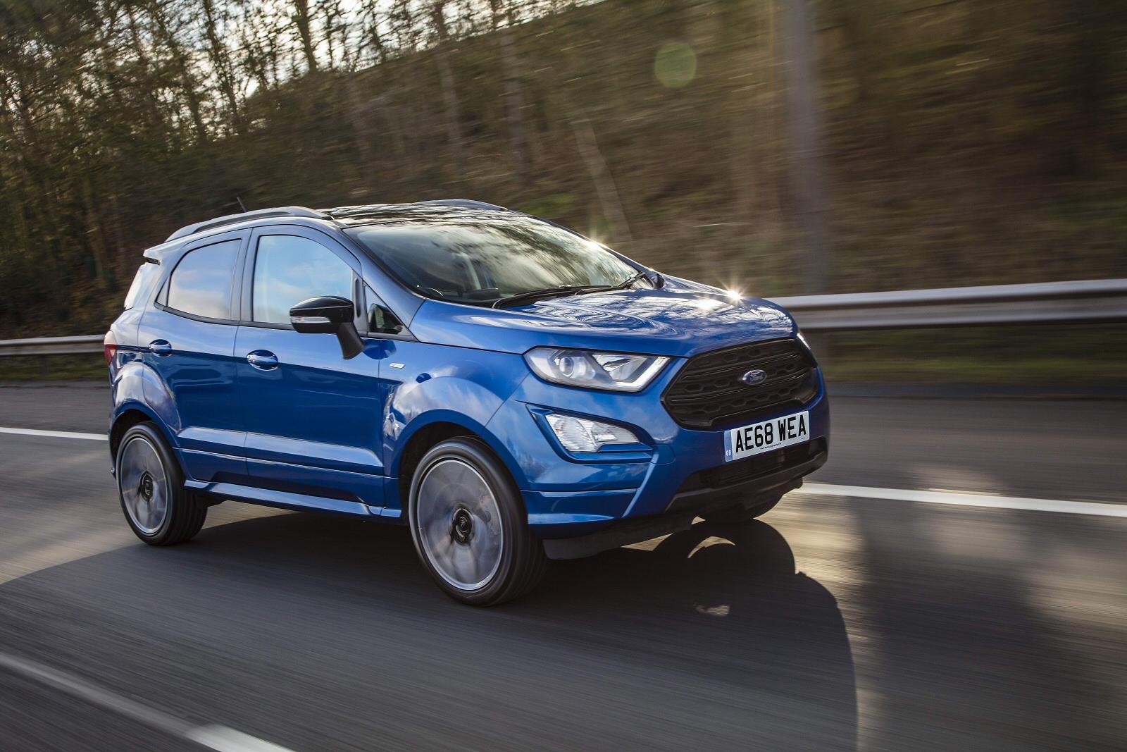 New ford ecosport 1 0 ecoboost zetec navigation 5dr petrol hatchback for sale bristol street