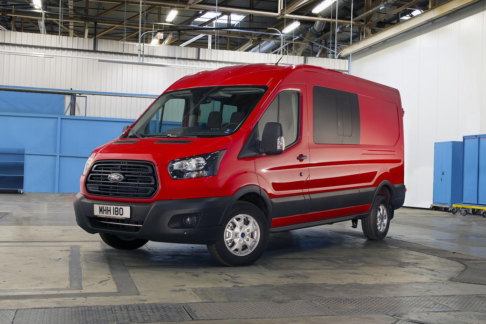 new ford transit 290 l2 diesel fwd 2 0 tdci 130ps h2 trend. Black Bedroom Furniture Sets. Home Design Ideas