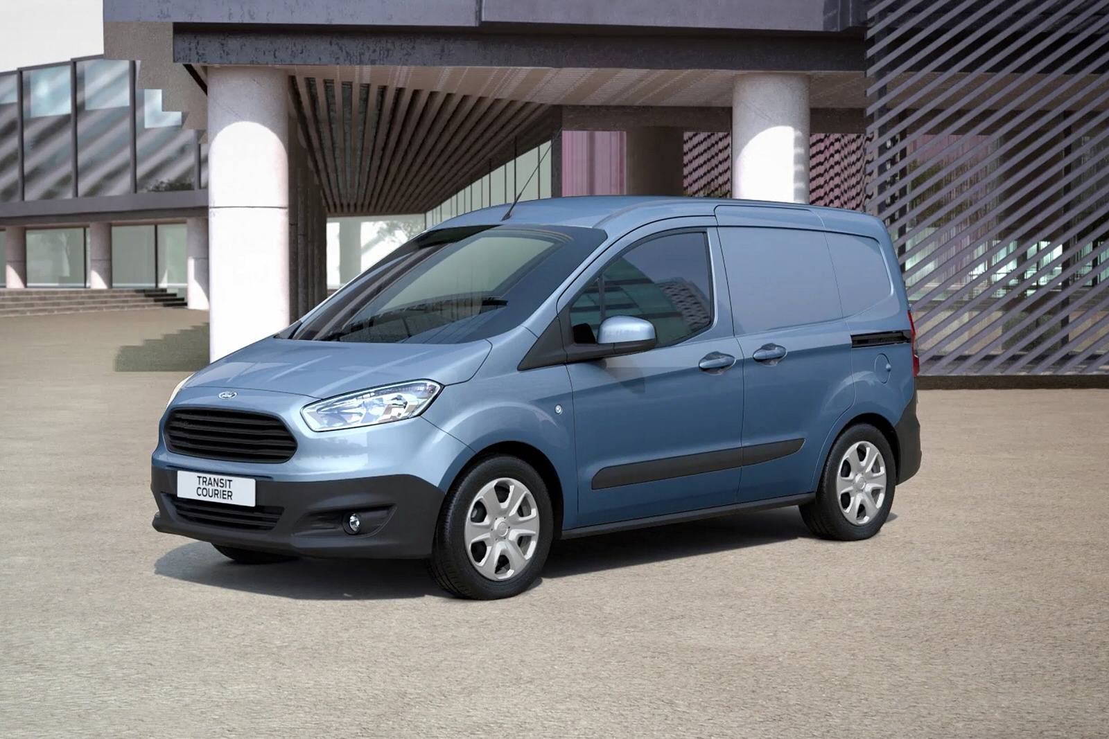 new ford transit courier petrol 1 0 ecoboost van for sale one stop vans. Black Bedroom Furniture Sets. Home Design Ideas