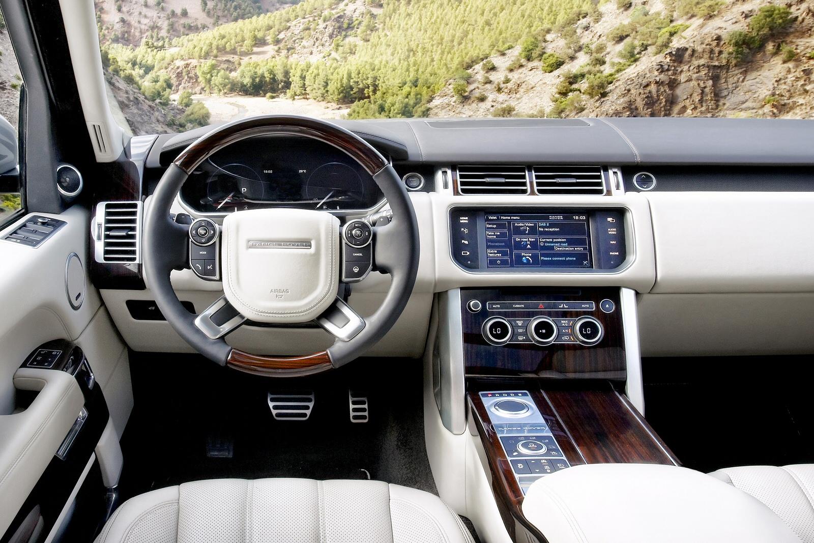 New Land Rover Range Rover 4 4 Sdv8 Svautobiography Lwb