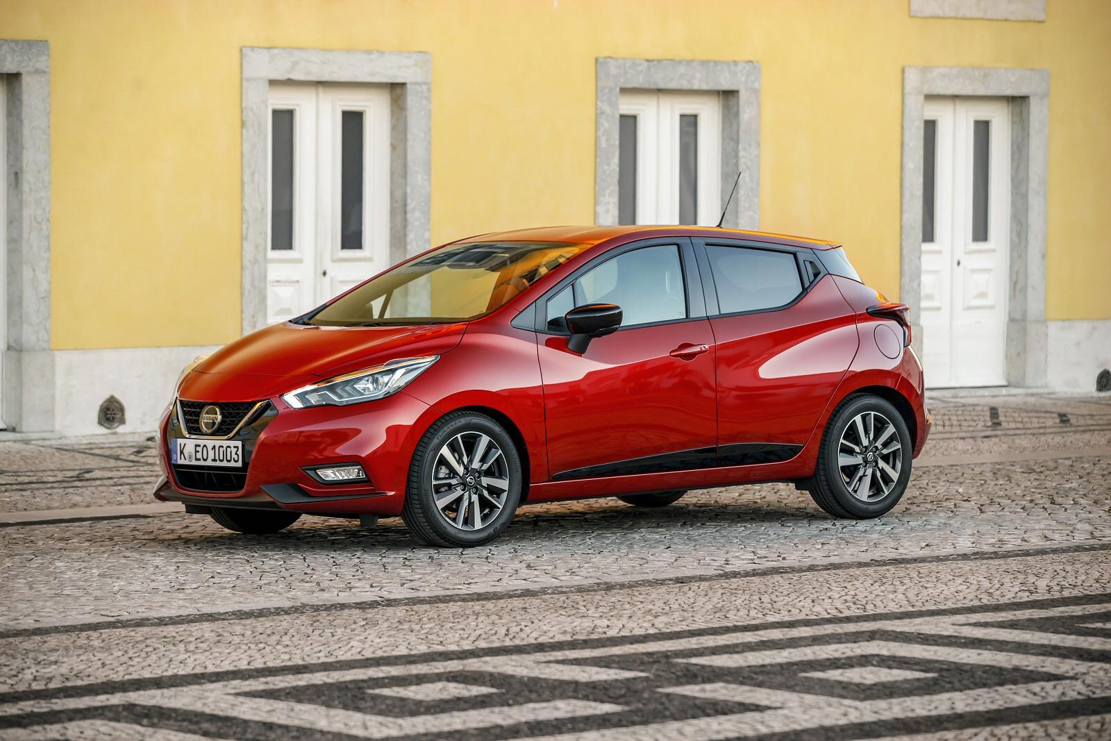 new nissan micra 1 0 ig t 100 n sport 5dr petrol hatchback. Black Bedroom Furniture Sets. Home Design Ideas