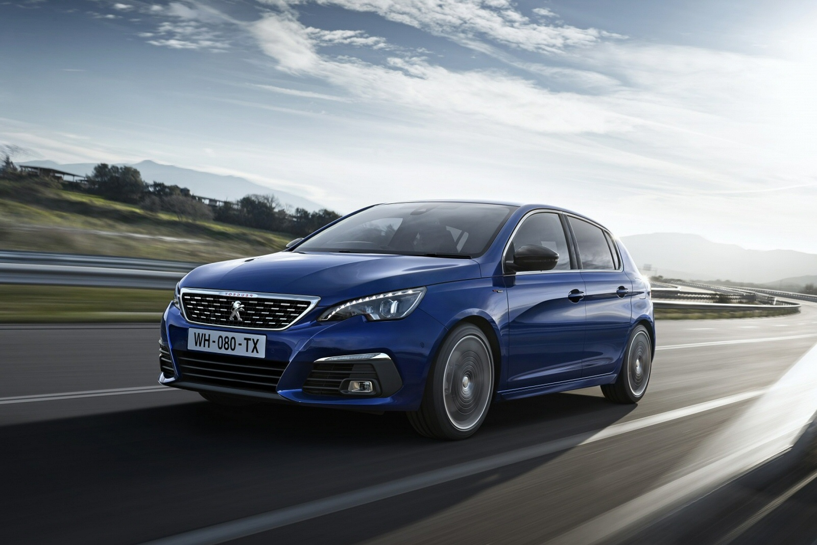 new peugeot 308 1 5 bluehdi 130 gt line 5dr eat8 diesel hatchback for sale bristol street. Black Bedroom Furniture Sets. Home Design Ideas