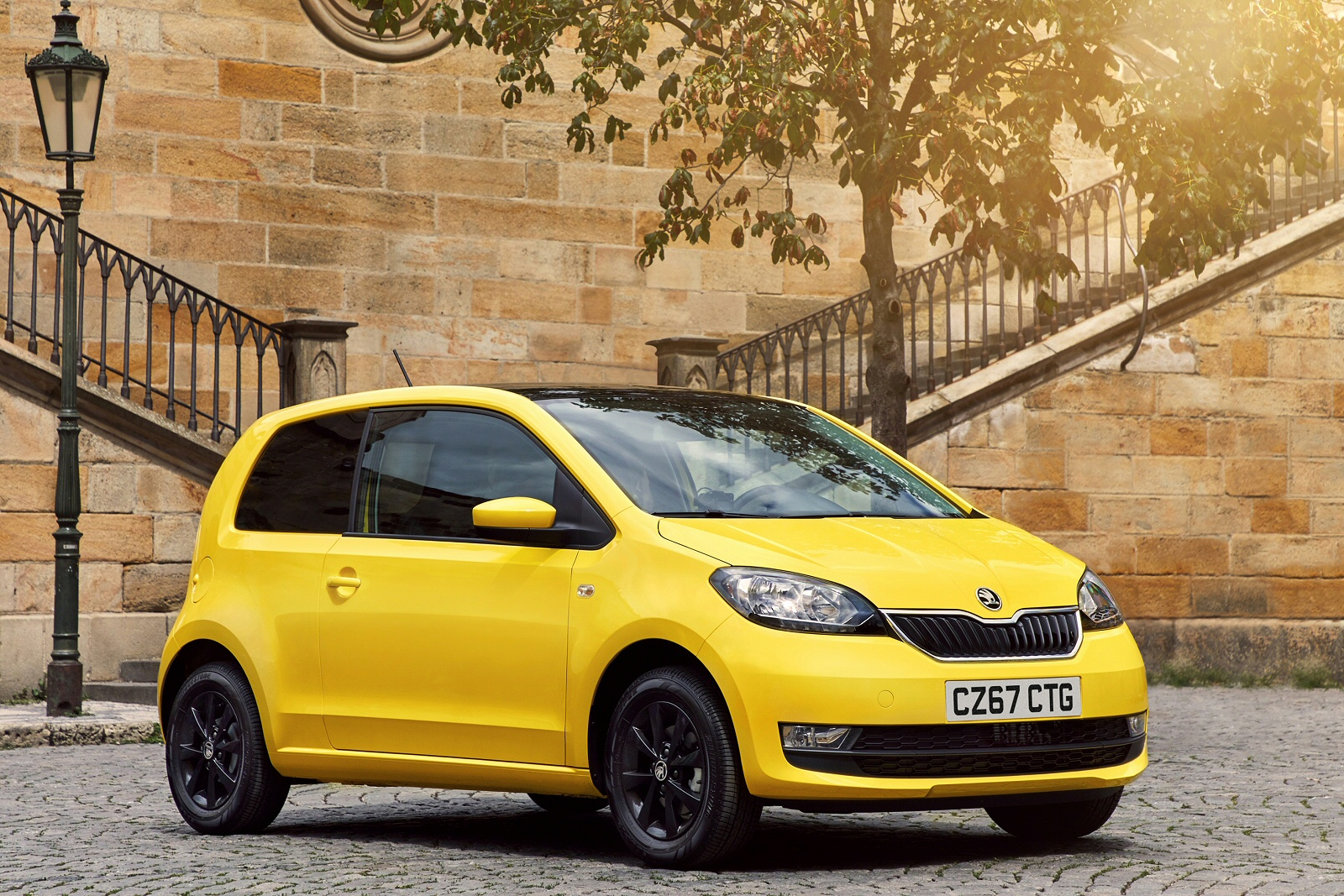 new skoda citigo 1 0 mpi greentech se 5dr petrol hatchback. Black Bedroom Furniture Sets. Home Design Ideas