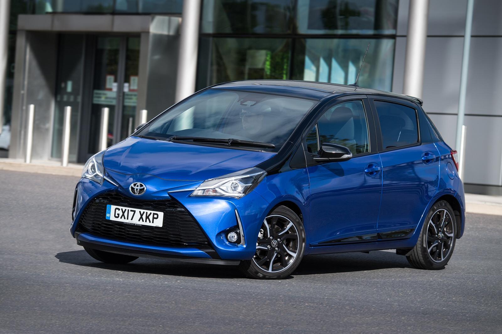 716721263d New Toyota Yaris 1.5 VVT-i Blue Bi-tone 5dr Petrol Hatchback for ...