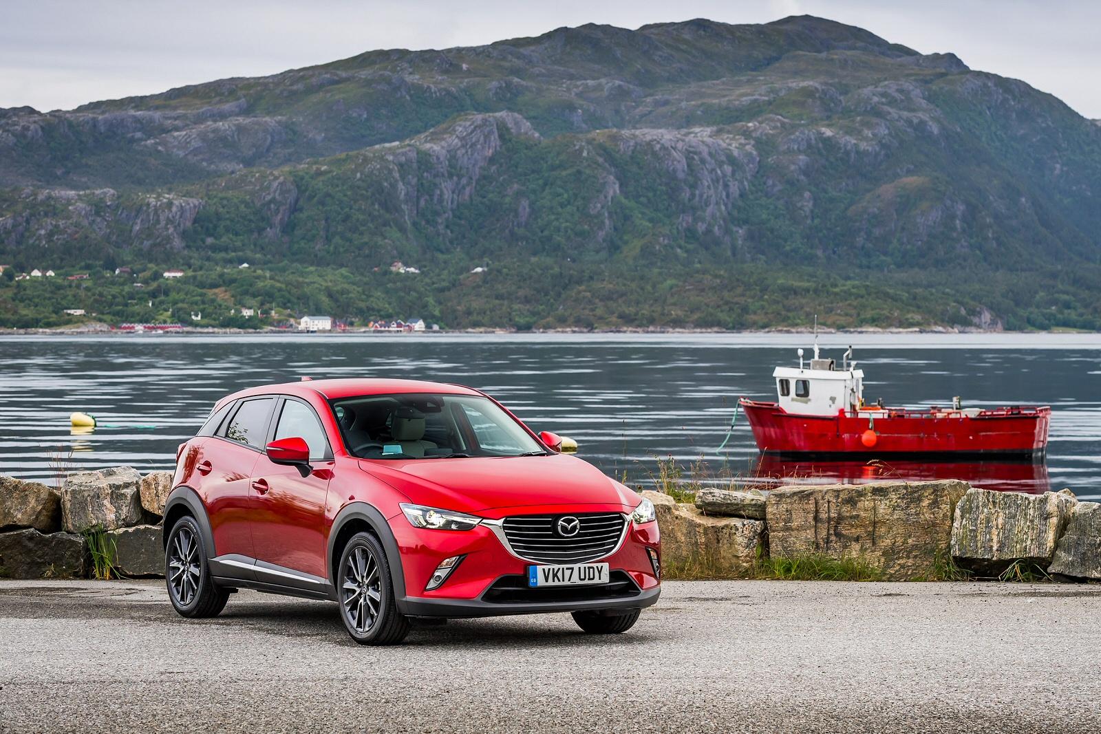 new mazda cx-3 2.0 se-l nav + 5dr petrol hatchback for sale