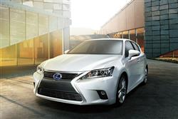 LEXUS CT HATCHBACK 200h 1.8 Luxury 5dr CVT Auto [Sunroof/Navigation]