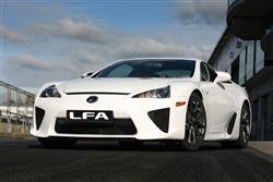 Car review: Lexus LF-A