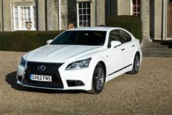 Car review: Lexus LS 460 F Sport