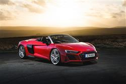 Car review: Audi R8 Spyder