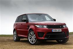 Car review: Land Rover Range Rover Sport SVR