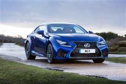 Car review: Lexus RC F coupe